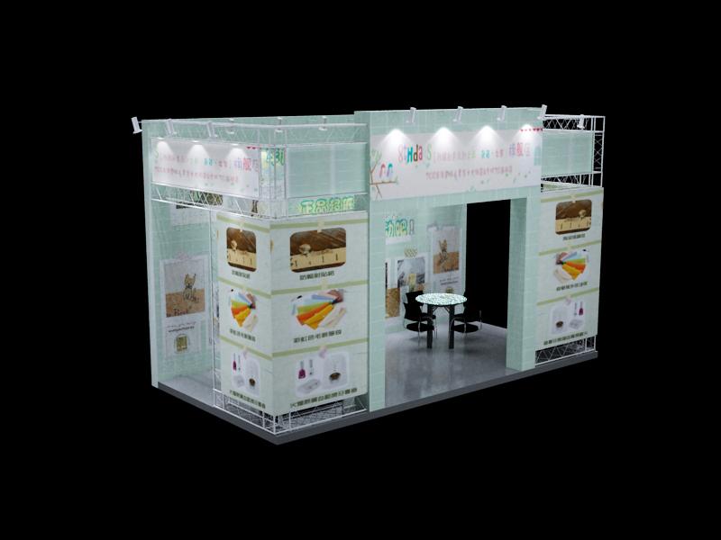 展览展厅设计案例 - 杭州会展设备租赁网